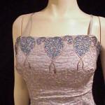 Vintage Silk Formal Dress