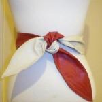 Vintage Leather Wrap Belt