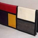 Vintage Mondrian Clutch Handbag