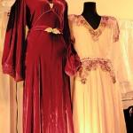 vintage fashion expo two dresses