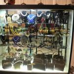 vintage fashion expo display case
