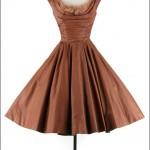 vintage 1950s ceil chapman cocktail dress
