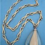 vintage 1960s danish lucite necklace