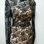 vintage travilla lace dress