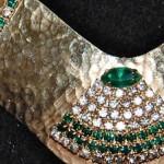 Vintage Hattie Carnegie Rhinestone Choker Necklace