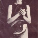 "Vintage ""Eye"" Paper Dress"