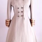vintage 1950s Lilli Ann Fur Trim Coat