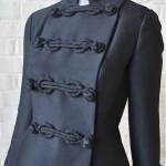 vintage 1960s suzy perette military dress coat