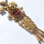 vintage 1960s salvador teran for marbel pre-columbian necklace