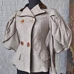 victorian puff sleeve jacket
