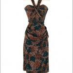 vintage 1950s silk convertible dress