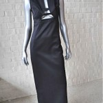 vintage 1990s lagerfeld gown