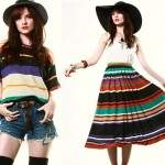 vintage 1970s missoni skirt and top