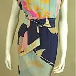 vintage leonard silk dress