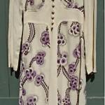 vintage 1970s ossie clark dress