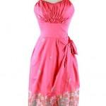 vintage 1950s strapless sarong hawaiian sundress
