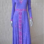 vintage 1970s bessi tunic and pants set