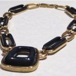 vintage 1970s givenchy choker necklace