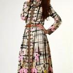 vintage 1970s paganne dress