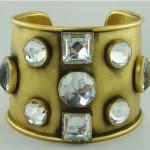 vintage 1980s ysl cuff bracelet