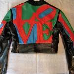 vintage north beach leather robert indiana love jacket