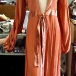 vintage quorum maxi dress
