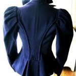 antique 19th century cashmere riding jacket