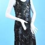 vintage 1920s sequinned flapper dress