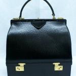 vintage 1960s handbag with jewel compartment