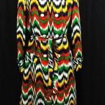 vintage 1960s vibrant raincoat
