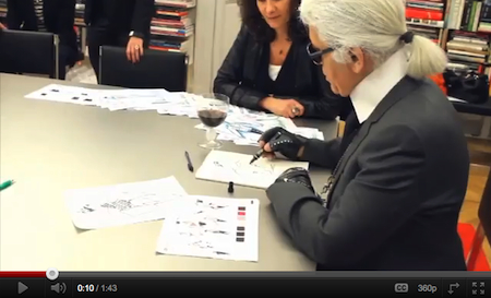 karl lagerfeld impulse for macys video