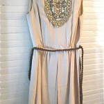 vintage 1960s morton myles beaded dress