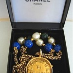 vintage 1980s chanel pendant necklace