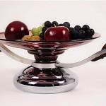 vintage 1930s art deco fruit bowl