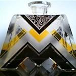 vintage 1930s art deco perfume bottle