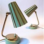 vintage bedside table lamps