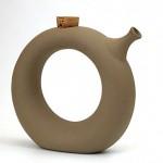 vintage midcentury stoneware jug