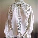 antique victorian blouse