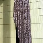 vintage 1920s art deco assuit shawl