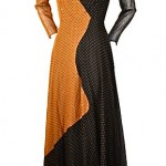 vintage 1940s holt renfrew polka dot dress
