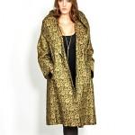 vintage 1950s brocade evening coat
