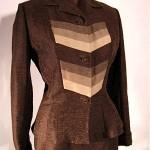 vintage 1950s lilli ann silk suit 1