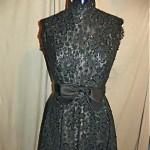 vintage 1950s victoria royal lace cocktail dress