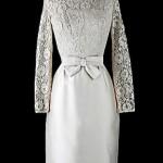 vintage 1950s wedding or cocktail dress
