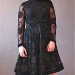 vintage 1960s emma domb polka dot dress