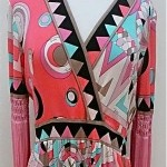 vintage 1960s pucci fringe maxi dress 1