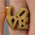 vintage 1960s robert indiana love ring 1