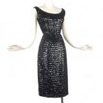 vintage 1960s sequin party dress