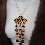 vintage 1970s christian dior necklace