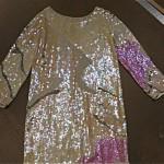 vintage 1970s halston sequin gown
